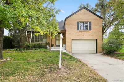 Denver Single Family Home Active: 2900 East Mississippi Avenue