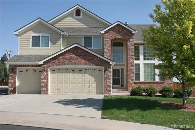 Castle Rock Single Family Home Active: 1035 Cryolite Place