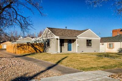 Denver Single Family Home Active: 3055 West 25th Avenue