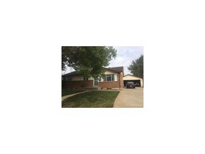 Northglenn Single Family Home Active: 11258 Ogden Drive