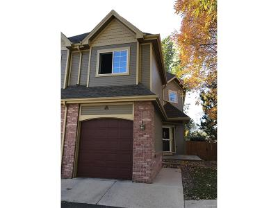 Arvada Condo/Townhouse Under Contract: 10830 West 63rd Avenue #A