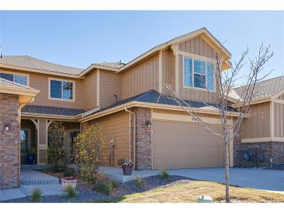 Castle Pines Condo/Townhouse Sold: 7636 Bristolwood Drive
