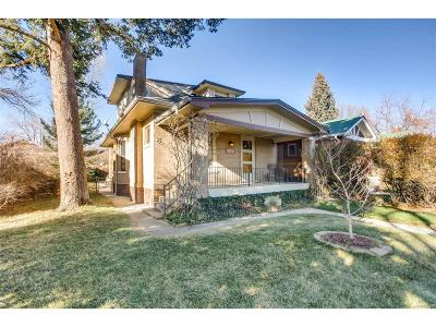 Denver Single Family Home Active: 4153 Knox Court