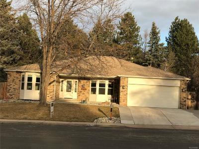 Centennial Single Family Home Active: 7608 South Detroit Street
