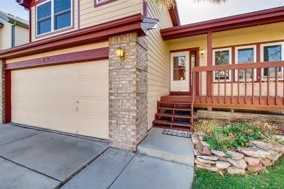 Broomfield Single Family Home Active: 3742 West 127th Avenue