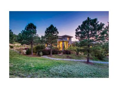 Castle Rock CO Single Family Home Under Contract: $1,100,000