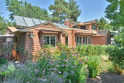 Boulder Single Family Home Active: 1985 Bluebell Avenue