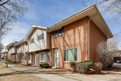 Condo/Townhouse Under Contract: 9004 East Mansfield Avenue