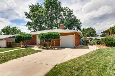 Denver Single Family Home Active: 3265 South Newton Street