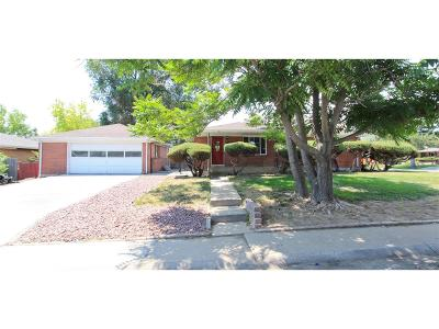 Westminster Single Family Home Active: 2730 Skyline Drive