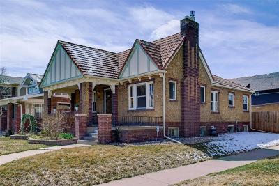 Denver Single Family Home Active: 3655 Vallejo Street