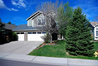 Highlands Ranch Single Family Home Under Contract: 9655 Salem Court