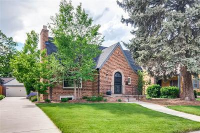 Denver Single Family Home Under Contract: 2255 Leyden Street
