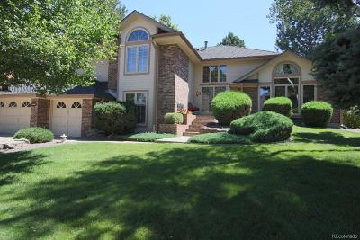 Centennial Single Family Home Active: 5093 East Otero Circle
