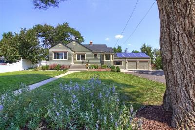 Wheat Ridge Single Family Home Under Contract: 6975 West 48th Avenue