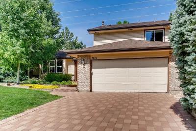 Centennial Single Family Home Active: 7416 East Long Circle