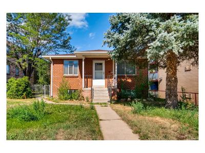 Denver Single Family Home Active: 1217 Yosemite Street