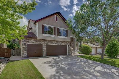 Highlands Ranch Single Family Home Under Contract: 852 English Sparrow Trail