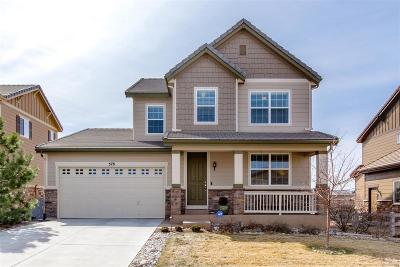 Highlands Ranch Single Family Home Under Contract: 578 Meadowleaf Lane