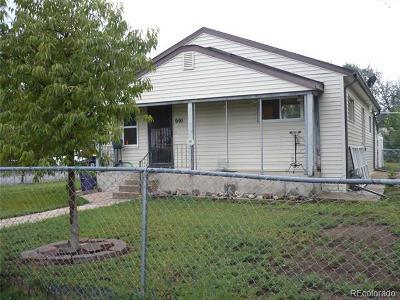 Denver Single Family Home Under Contract: 991 South Newton Street