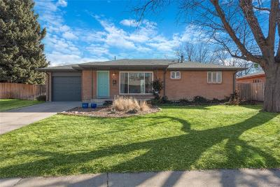 Westminster Single Family Home Under Contract: 7120 Berthoud Street