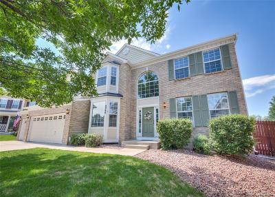 Colorado Springs Single Family Home Under Contract: 8980 Peabody Court