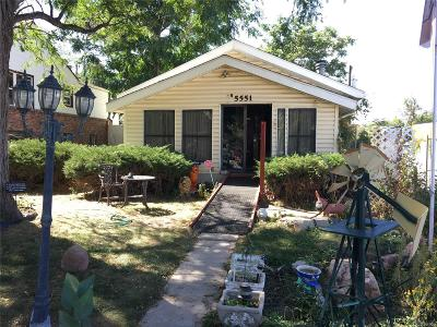 Commerce City Single Family Home Under Contract: 5551 Monaco Street