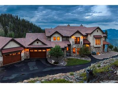 Evergreen Single Family Home Active: 580 Packsaddle Trail