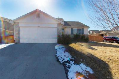 Castle Rock Single Family Home Under Contract: 3640 Rawhide Circle
