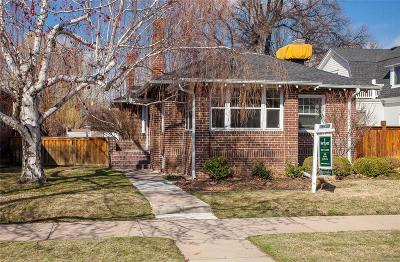 Denver Single Family Home Active: 1215 South York Street