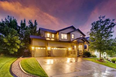 Castle Pines Single Family Home Active: 6842 Serena Avenue