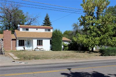 Denver Single Family Home Active: 3333 West Florida Avenue