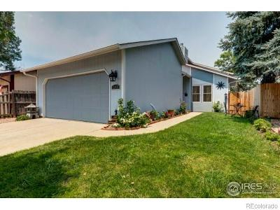 Longmont Single Family Home Under Contract: 2848 Troxell Avenue