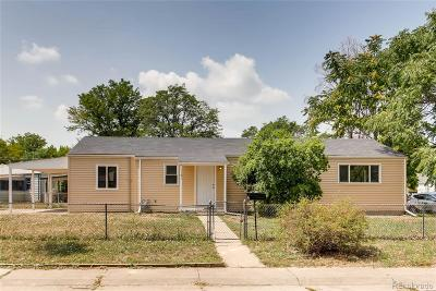 Aurora Single Family Home Active: 1151 Hillside Street