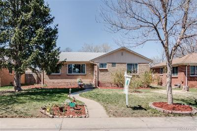 Aurora CO Single Family Home Active: $370,000