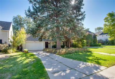 Denver Residential Lots & Land Active: 364 Dexter Street
