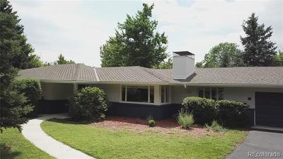 Golden Single Family Home Under Contract: 13214 Braun Road