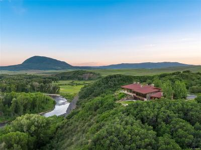 Steamboat Springs Single Family Home Active: 24620 County Road 54