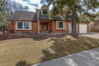 Littleton Single Family Home Under Contract: 6984 South Lee Way