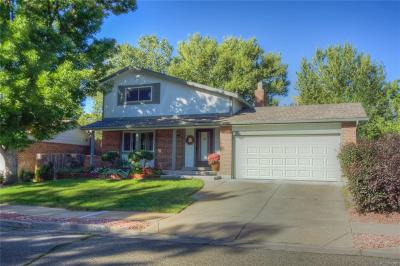 Arvada Single Family Home Active: 7069 Coors Court