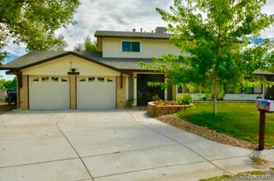 Littleton Single Family Home Under Contract: 10626 West Tufts Place