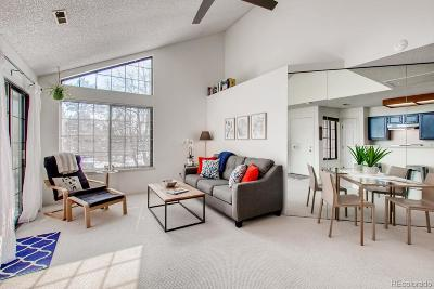Boulder Condo/Townhouse Under Contract: 4833 White Rock Circle #F