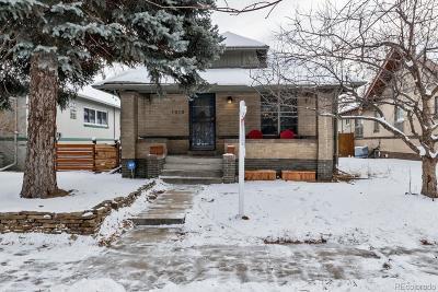 Denver Single Family Home Under Contract: 1010 Monroe Street