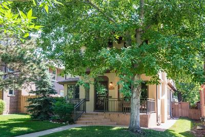 Denver Single Family Home Active: 648 South Gaylord Street