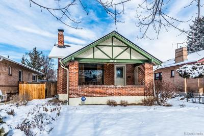 Denver Single Family Home Active: 4633 East 16th Avenue