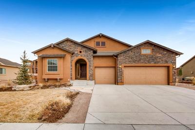Monument Single Family Home Under Contract: 15667 Old Post Drive