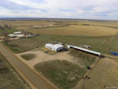 Greeley Single Family Home Under Contract: 22709 County Road 52