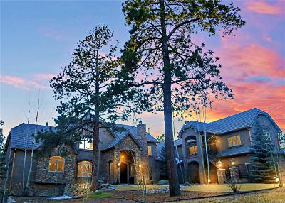 Larkspur CO Single Family Home Active: $3,495,000