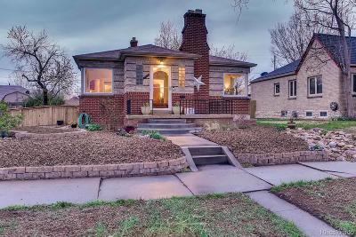 Denver Single Family Home Active: 2910 West 39th Avenue