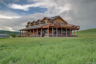 Routt County Single Family Home Active: 38615 Klein Road
